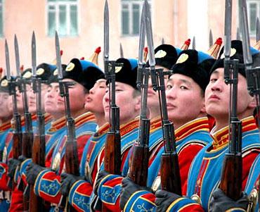 Mongolian Army Parade Yooper John